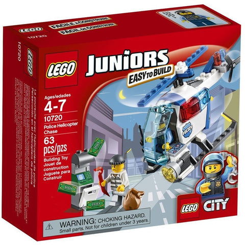 LEGO 10720 Juniors Police Helicopter Chase - Blocks and Bricks - Anglo Dutch Pools and Toys