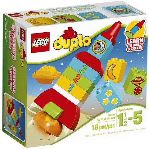 LEGO 10815 Duplo My First Rocket - Blocks and Bricks - Anglo Dutch Pools and Toys