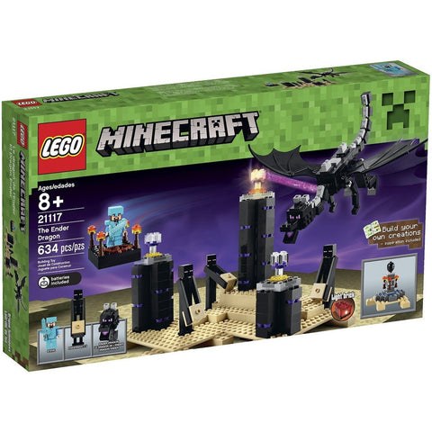 LEGO 21117 Minecraft  The Ender Dragon - Blocks and Bricks - Anglo Dutch Pools and Toys
