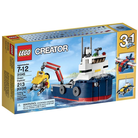 LEGO 31045 Creator Ocean Explorer - Blocks and Bricks - Anglo Dutch Pools and Toys