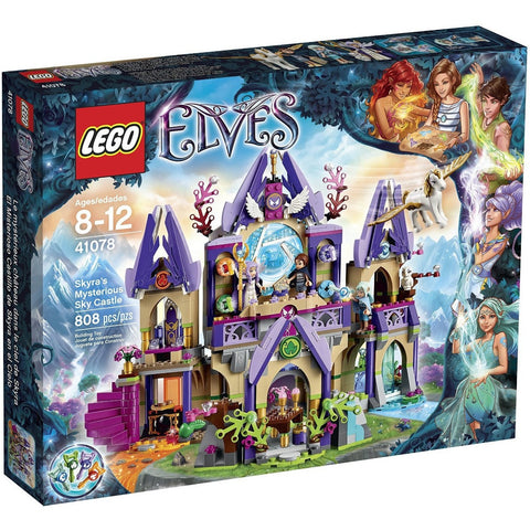 LEGO 41078 Elves Skyra's Mysterious Sky Castle- - Anglo Dutch Pools & Toys  - 1