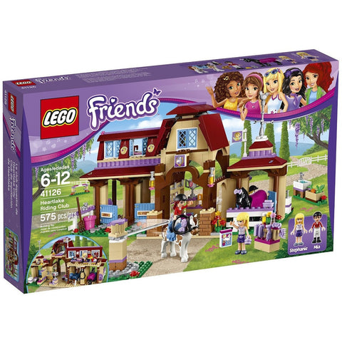 LEGO 41126 Friends Heartlake Riding Club - Blocks and Bricks - Anglo Dutch Pools and Toys