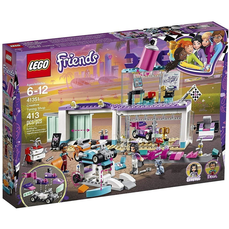 Blocks And Bricks - LEGO 41351 Friends Creative Tuning Shop