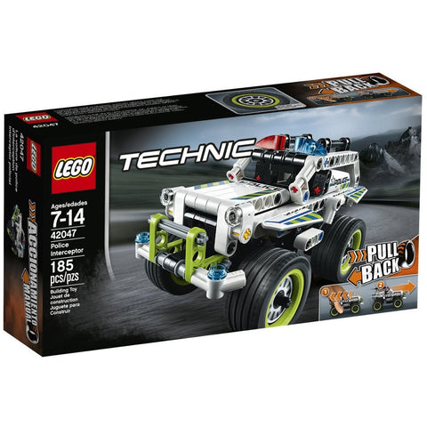 LEGO 42047 Technic Police Interceptor - Blocks and Bricks - Anglo Dutch Pools and Toys