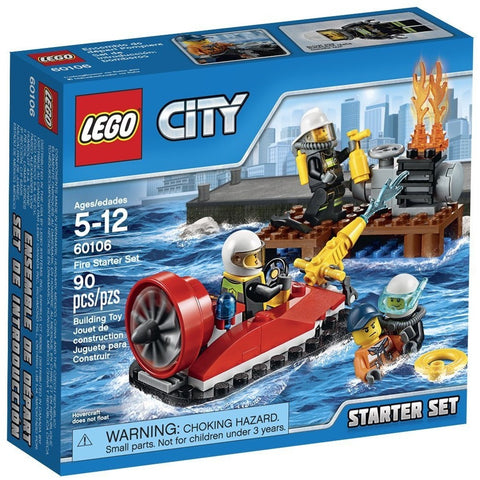 LEGO 60106 City Fire Starter Set - Blocks and Bricks - Anglo Dutch Pools and Toys