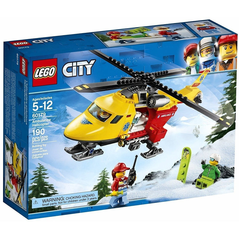 LEGO 60179 City Ambulance Helicopter