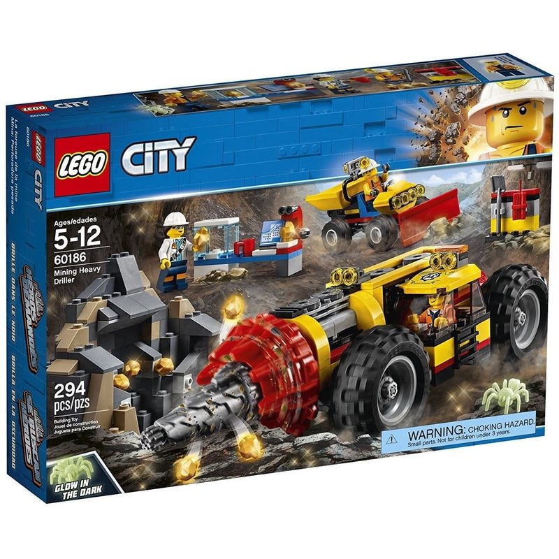 LEGO 60186 City Mining Heavy Driller