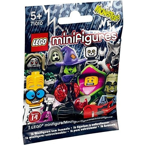 LEGO 71010 Minifigures, Series 14: Monsters - Blocks and Bricks - Anglo Dutch Pools and Toys