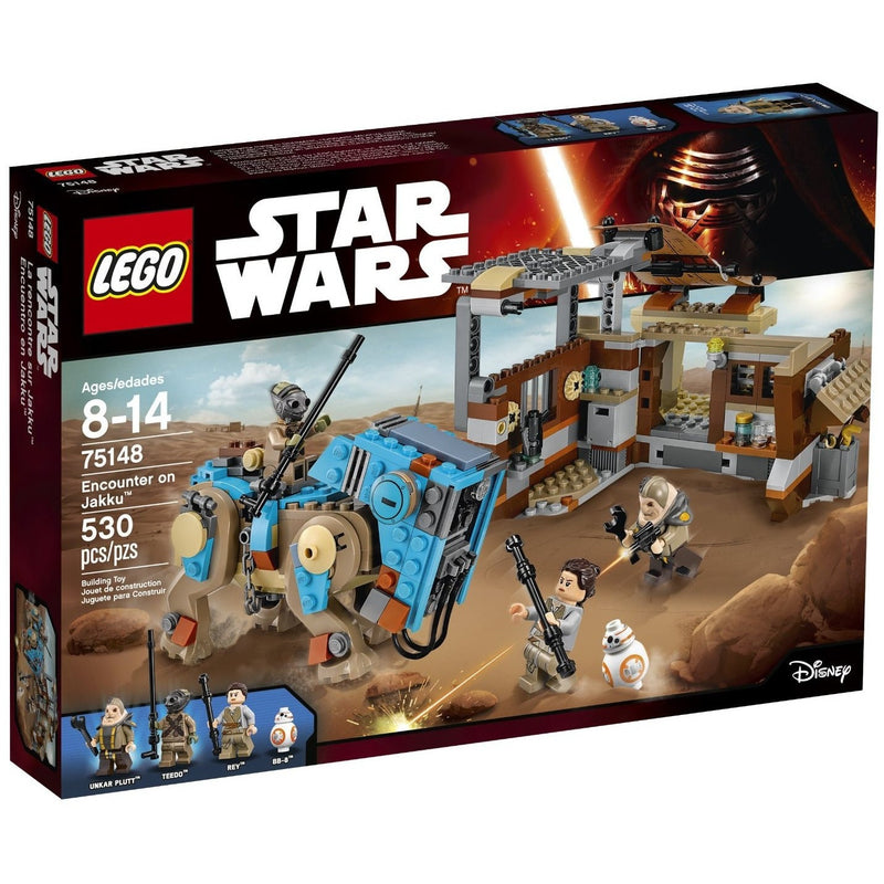 LEGO 75148 Star Wars Encounter on Jakku- - Anglo Dutch Pools & Toys  - 1