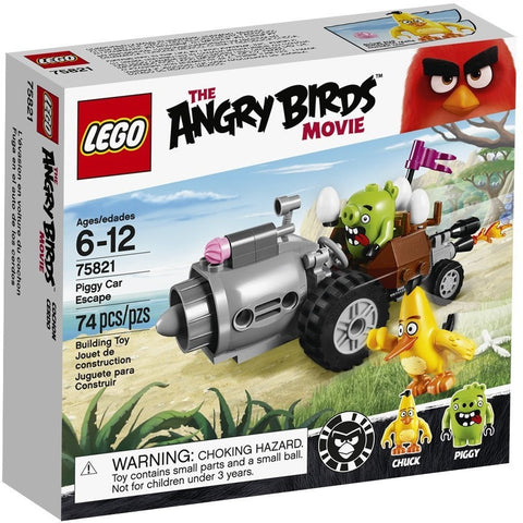 LEGO 75821 Angry Birds Piggy Car Escape - Blocks and Bricks - Anglo Dutch Pools and Toys