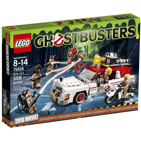 LEGO 75828 Ghostbusters Ecto-1 & 2 - Blocks and Bricks - Anglo Dutch Pools and Toys