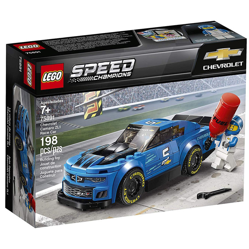 Blocks And Bricks - LEGO 75891 Speed Champions Chevrolet Camaro ZL1 Race Car