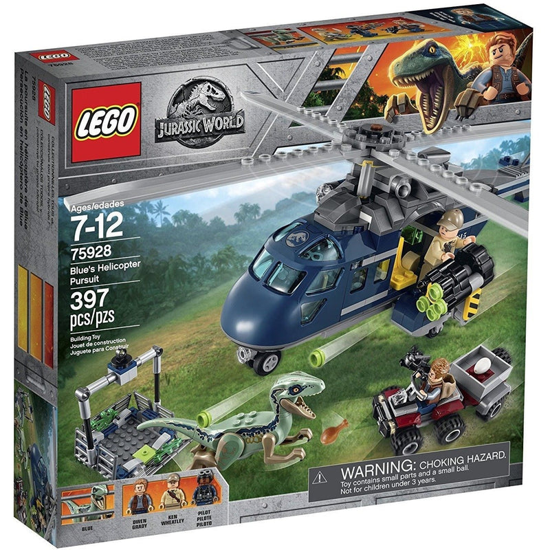 Blocks And Bricks - LEGO 75928 Jurassic World Blue's Helicopter Pursuit