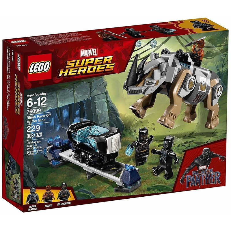 LEGO 76099 Marvel Super Heroes Rhino Face-Off by the Mine