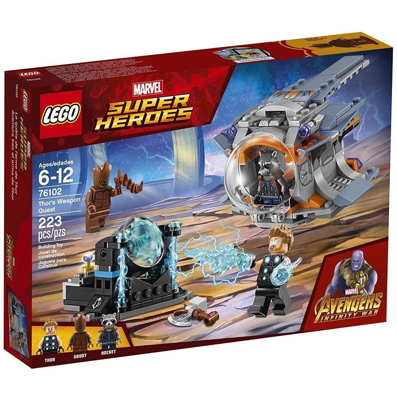 Blocks And Bricks - LEGO 76102 Marvel Super Heroes Thor's Weapon Quest