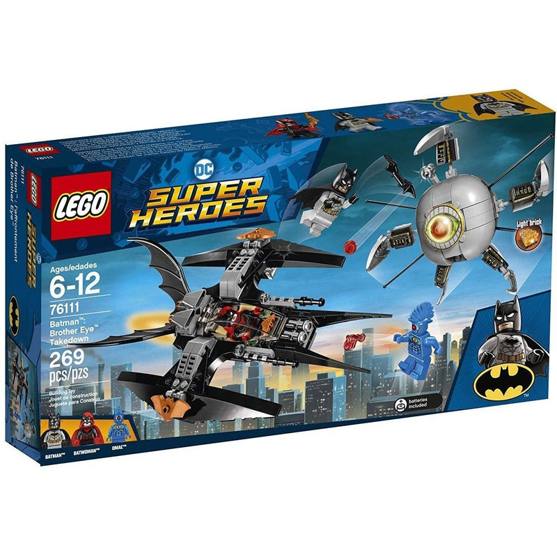 Blocks And Bricks - LEGO 76111 DC Comics Super Heroes Batman Brother Eye Takedown