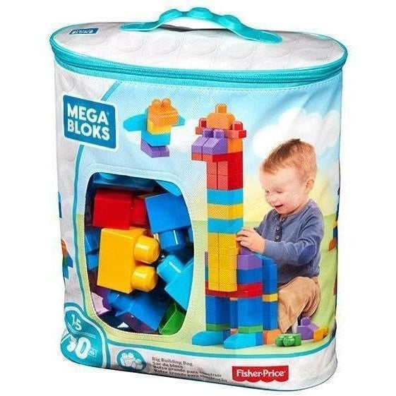 Mega Bloks Big Building Bag Classic (80 Pc)