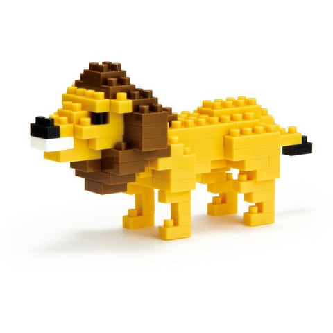 Nanoblock Lion- - Anglo Dutch Pools & Toys  - 1