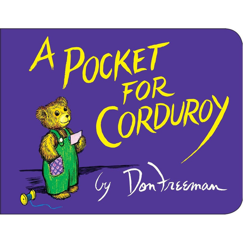 Board Books - A Pocket For Corduroy