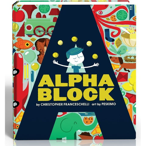 Alphablock Board Book - Board Books - Anglo Dutch Pools and Toys