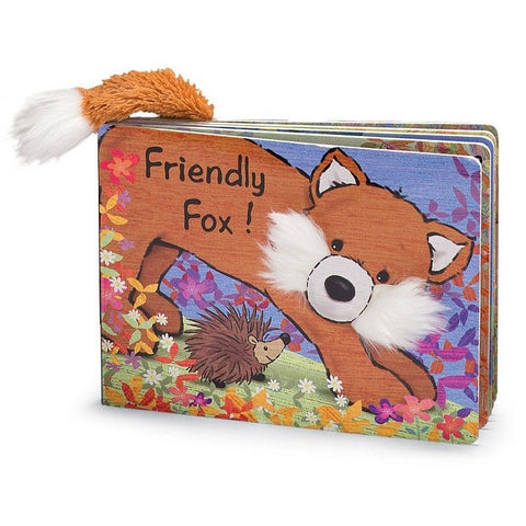Friendly Fox Book - Board Books - Anglo Dutch Pools and Toys