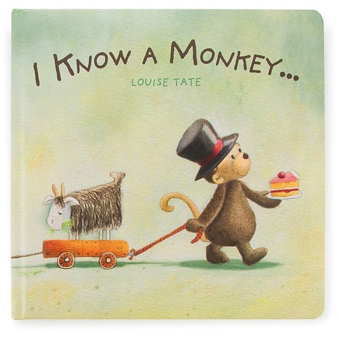 I Know A Monkey Book - Board Books - Anglo Dutch Pools and Toys