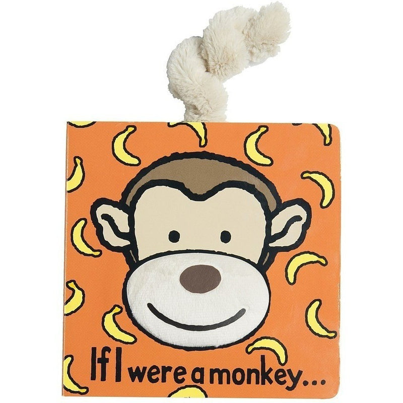 Board Books - If I Were A Monkey Board Book