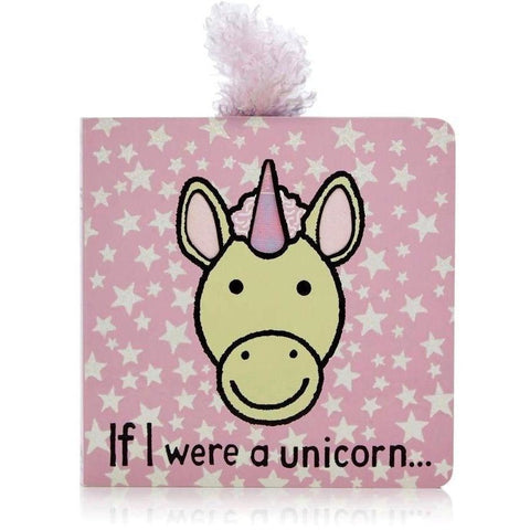 If I were a Unicorn Board Book- - Anglo Dutch Pools & Toys  - 1