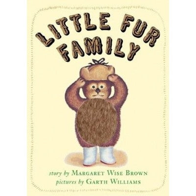 Little Fur Family Board Book- - Anglo Dutch Pools & Toys