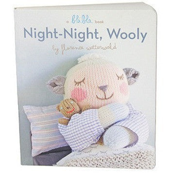 NightNight Wooly Board Book- - Anglo Dutch Pools & Toys  - 1