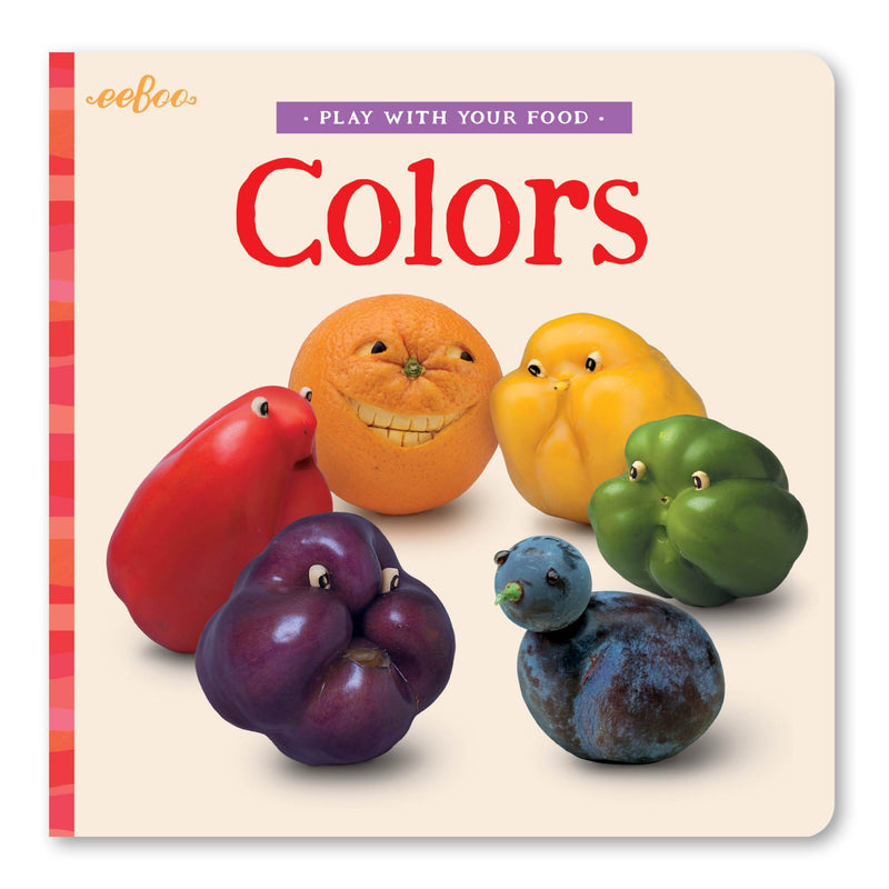 Board Books - Play With Your Food Colors Board Book