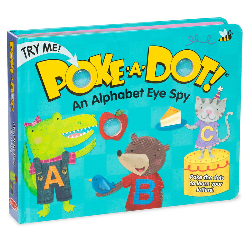 Board Books - Poke-A-Dot: Alpha Eye Spy
