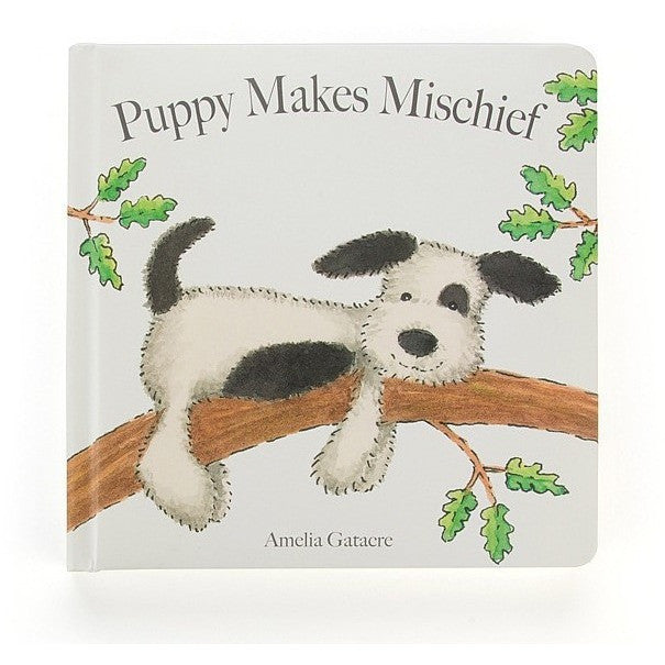 Puppy Makes Mischief Book - Board Books - Anglo Dutch Pools and Toys
