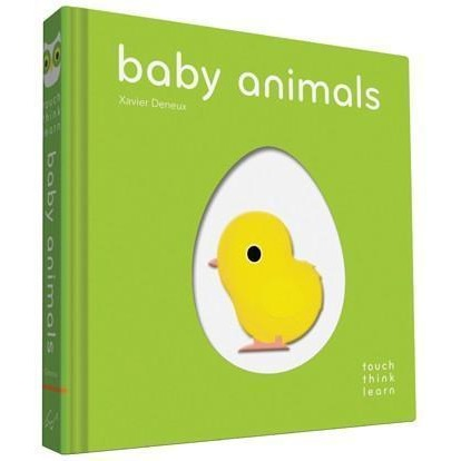 TouchThinkLearn: Baby Animals Board book