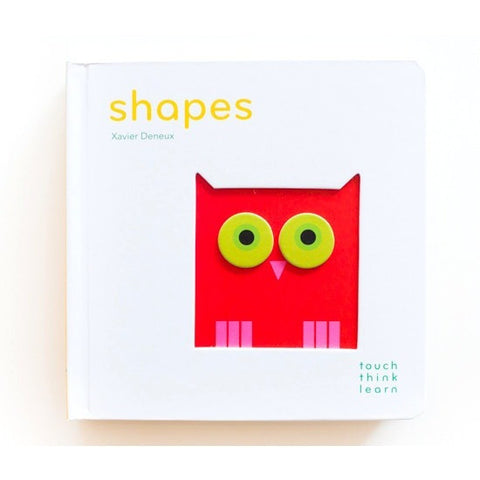 TouchThinkLearn: Shapes Board Book - Board Books - Anglo Dutch Pools and Toys