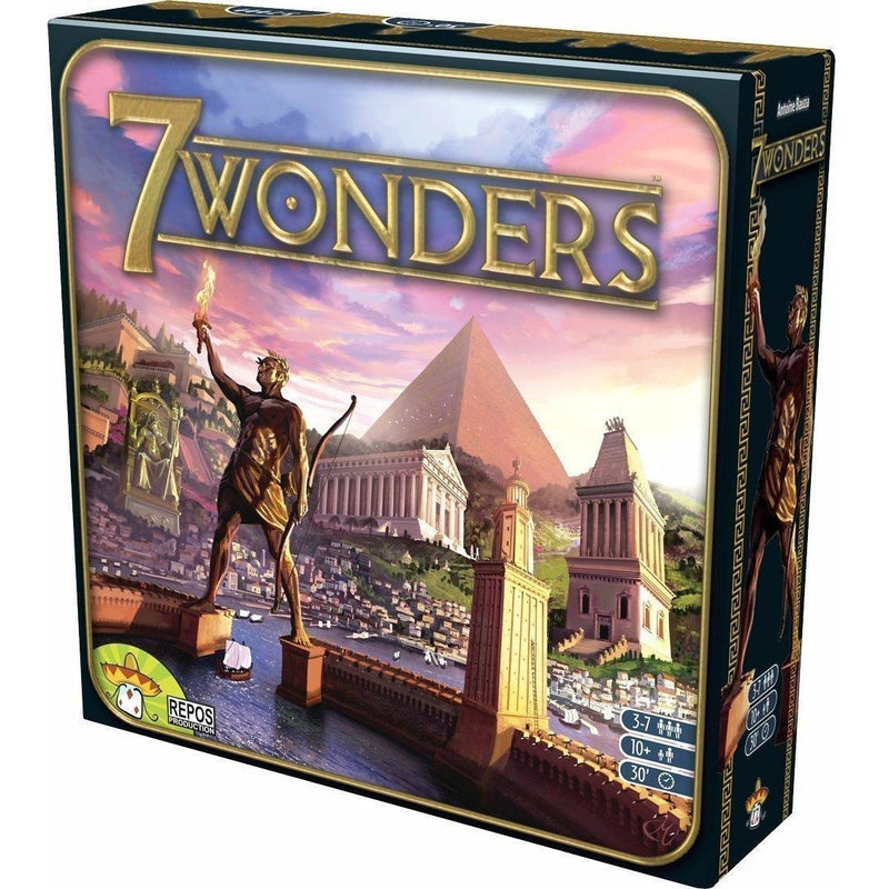 7 Wonders Game - Board Games - Anglo Dutch Pools and Toys