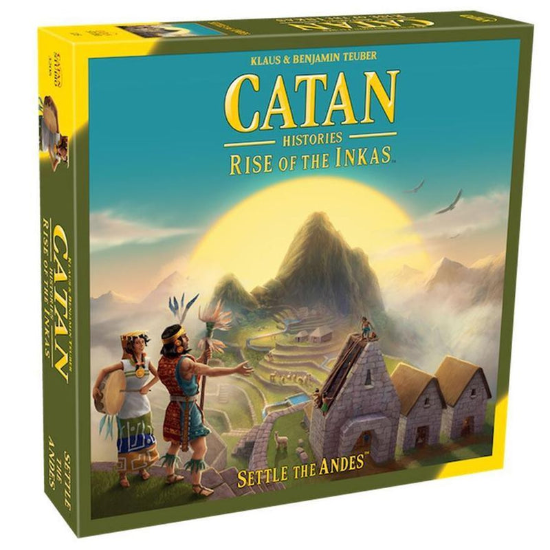 Board Games - Catan - Rise Of The Inkas