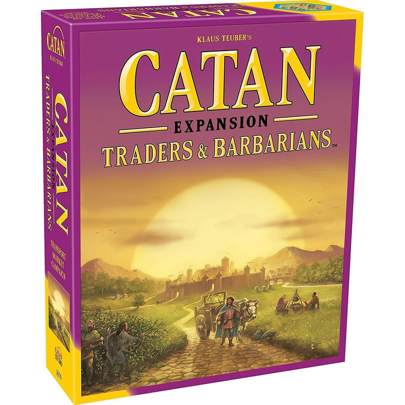 Catan: Traders & Barbarians Game Expansion