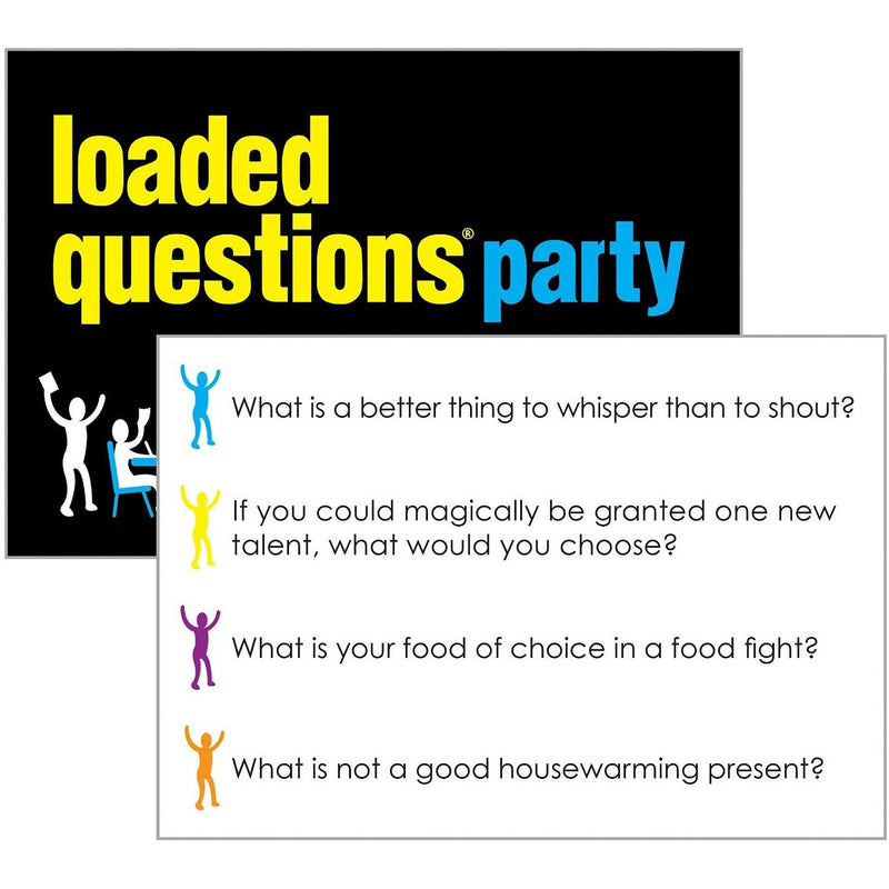 loaded questions party game party and social games