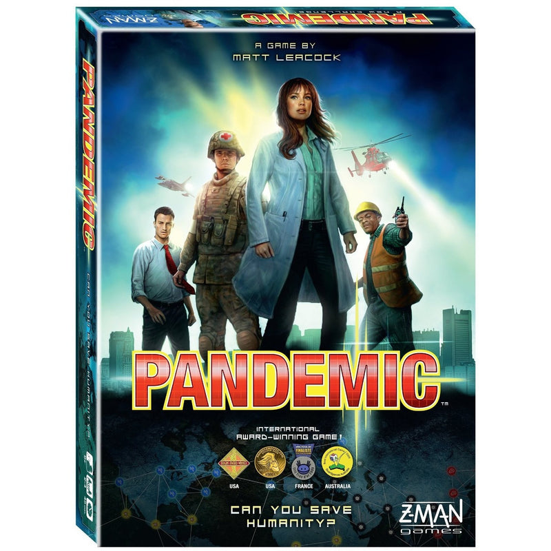 Pandemic Board Game - Board Games - Anglo Dutch Pools and Toys