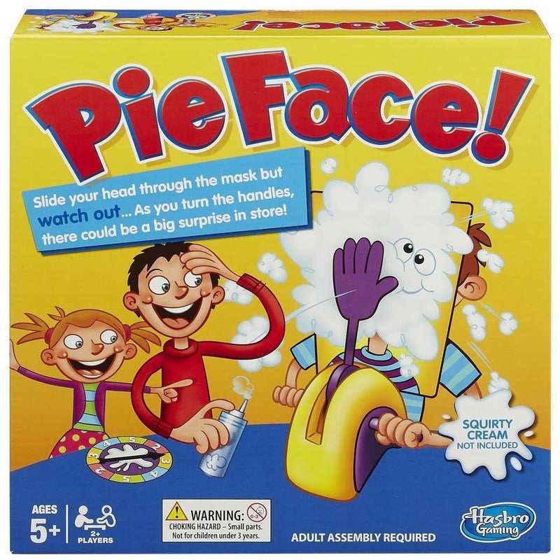 Pie Face Game - Party and Social Games - Anglo Dutch Pools and Toys