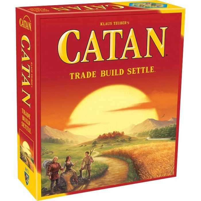 The Settlers of Catan - Board Games - Anglo Dutch Pools and Toys