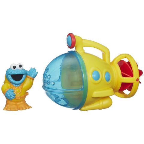 Playskool Sesame Street Cookie Monster Bath Submarine - Boats and Subs - Anglo Dutch Pools and Toys