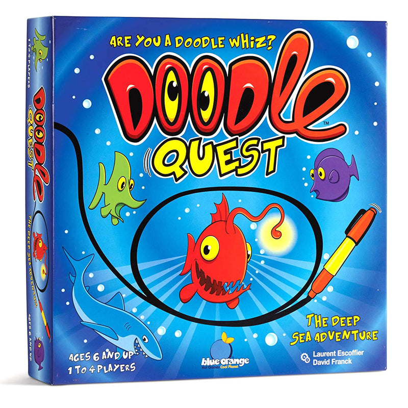Brain Teasers And Strategy - Doodle Quest Game