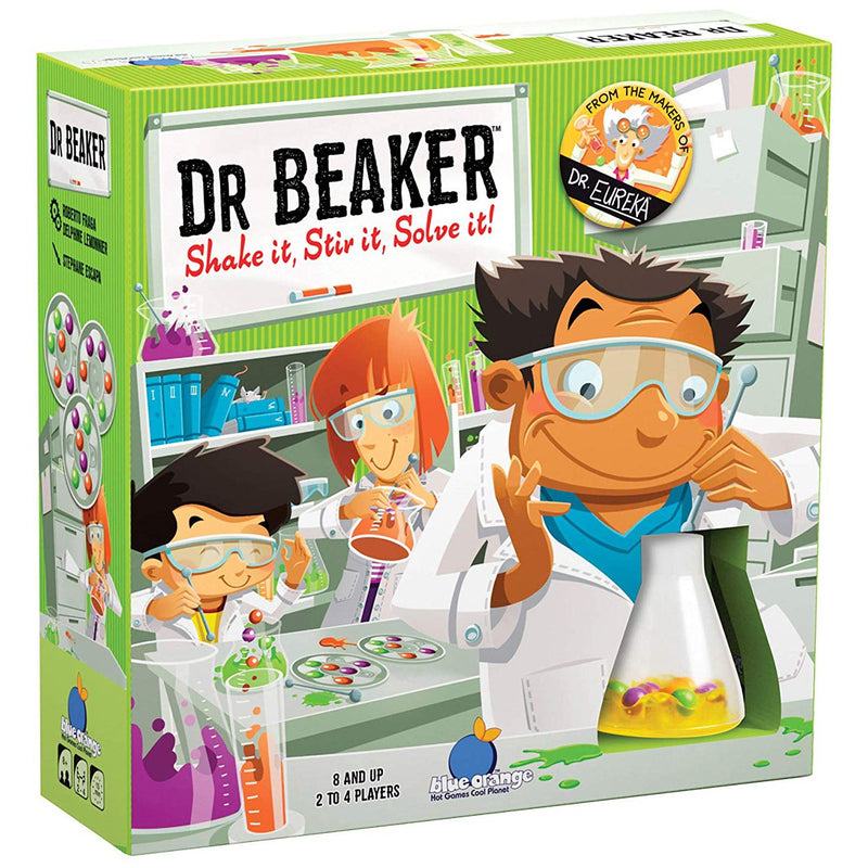 Brain Teasers And Strategy - Dr. Beaker Speed Logic Game