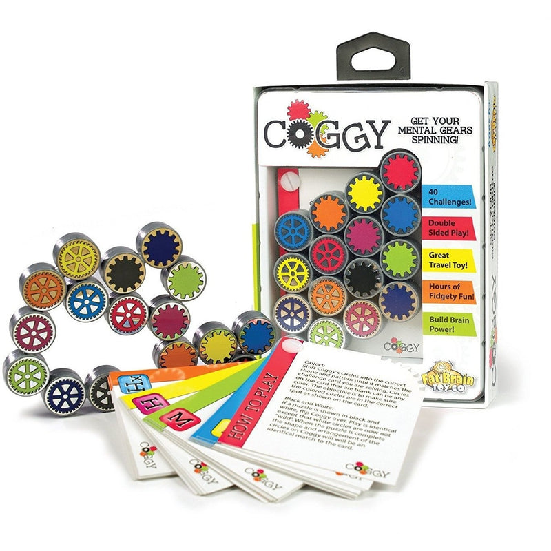 Brain Teasers And Strategy - Fat Brain Toys Coggy