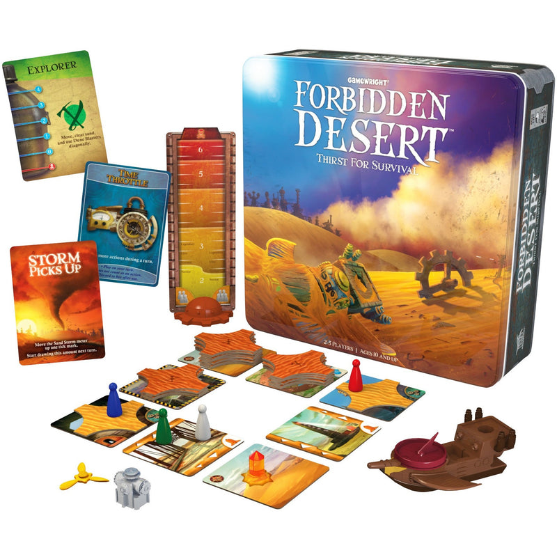 Forbidden Desert - Brain Teasers and Strategy - Anglo Dutch Pools and Toys
