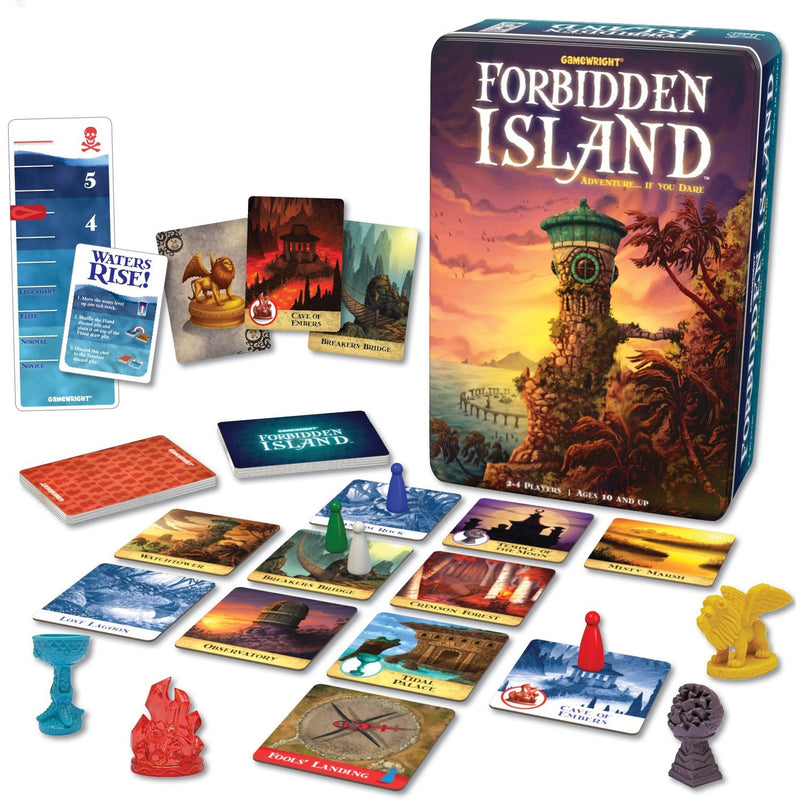 Forbidden Island - Brain Teasers and Strategy - Anglo Dutch Pools and Toys