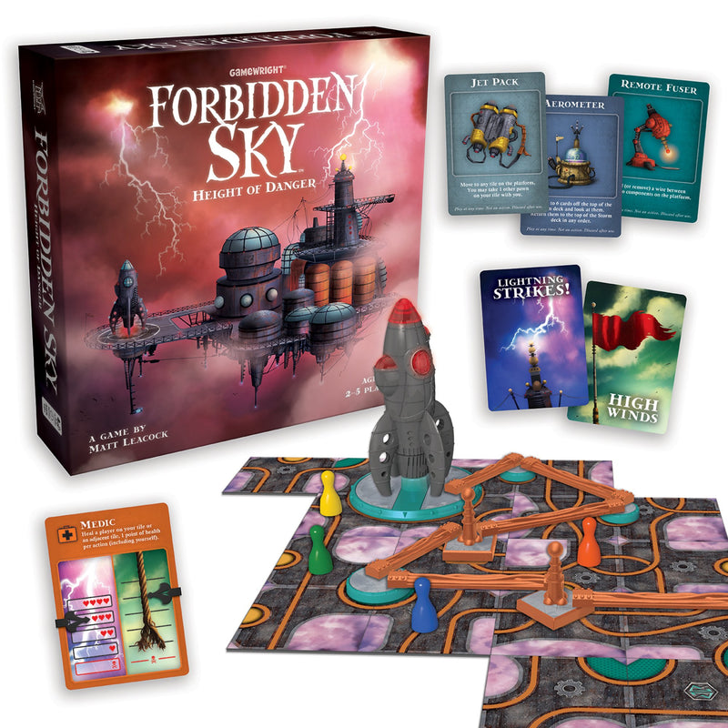 Brain Teasers And Strategy - Forbidden Sky