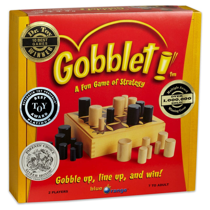 Brain Teasers And Strategy - Gobblet Game